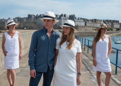 Chapeaux de cérémonie Celine Robert disponibles chez Boutique Bénic