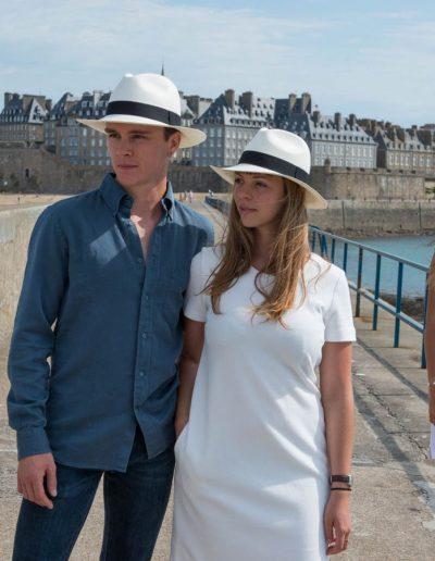 Chapeaux de cérémonie Céline Robert disponibles chez Boutique Bénic