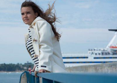 Duffle-coat à la Boutique BENIC à Saint-Malo