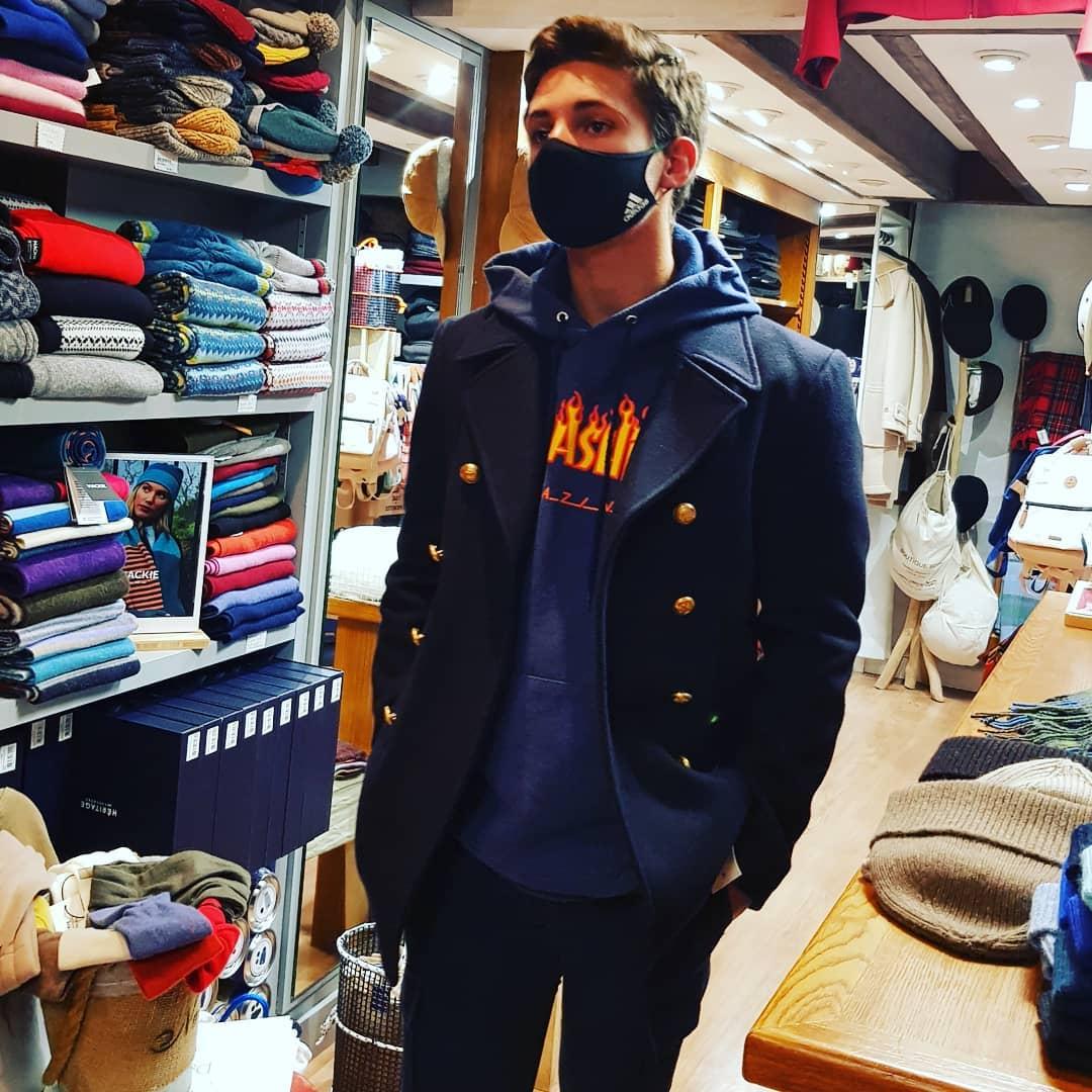 Une envie de caban ,venez chercher un Dalmard Marine chez Boutique BENIC Saint-Malo